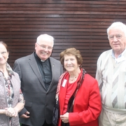 Crrom Parish Delegetes: Maura Cagney, Fr. Eamonn O'Brien, Ora Spillane, Christy Murray