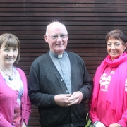 Glin Parish Delegates: Mary Hogan, Fr. Tom Crawford & Grace Fitzgearld